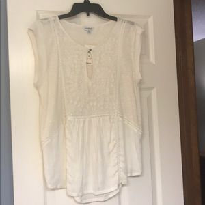Lucky Brand White Blouse